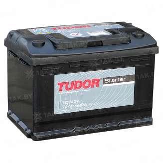 Аккумулятор TUDOR (74 Ah) 680 A, 12 V Обратная, R+ 0