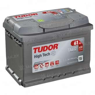 Аккумулятор TUDOR (61 Ah) 600 A, 12 V Обратная, R+ 0