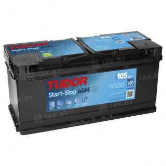Аккумулятор TUDOR (105 Ah) 950 A, 12 V Обратная, R+ 0