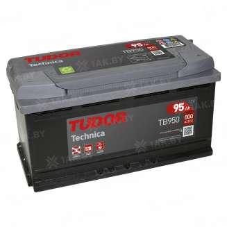 Аккумулятор TUDOR (95 Ah) 800 A, 12 V Обратная, R+ 0
