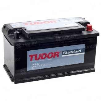 Аккумулятор TUDOR (90 Ah) 720 A, 12 V Обратная, R+ 0