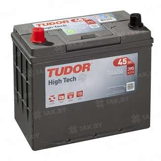 Аккумулятор TUDOR (45 Ah) 390 A, 12 V Прямая, L+ 0