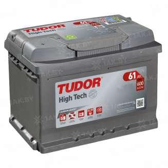 Аккумулятор TUDOR (61 Ah) 600 A, 12 V Прямая, L+ 0