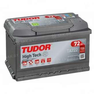Аккумулятор TUDOR (72 Ah) 720 A, 12 V Обратная, R+ 0