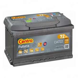 Аккумулятор CENTRA (72 Ah) 720 A, 12 V Обратная, R+ 0