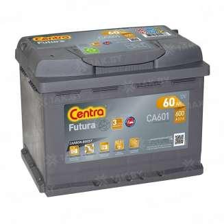 Аккумулятор CENTRA (60 Ah) 600 A, 12 V Обратная, R+ 0