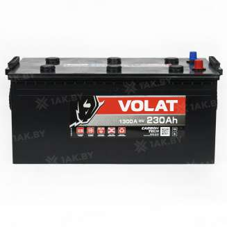 Аккумулятор VOLAT (230 Ah) 1300 A, 12 V Прямая, L+ 0