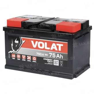 Аккумулятор VOLAT (75 Ah) 750 A, 12 V Обратная, R+ 0