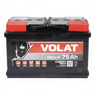 Аккумулятор VOLAT (75 Ah) 750 A, 12 V Обратная, R+ 1