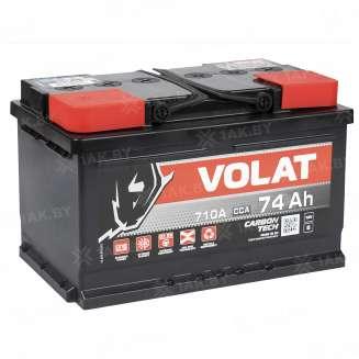Аккумулятор VOLAT (74 Ah) 710 A, 12 V Обратная, R+ 0