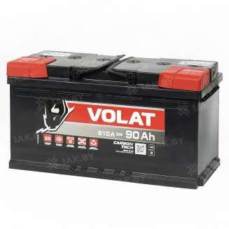 Аккумулятор VOLAT (90 Ah) 870 A, 12 V Прямая, L+ 1
