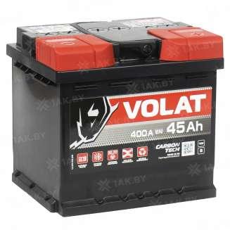 Аккумулятор VOLAT (45 Ah) 400 A, 12 V Прямая, L+ 1