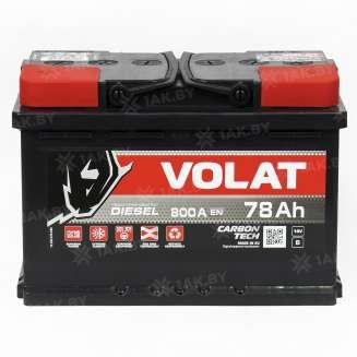 Аккумулятор VOLAT (78 Ah) 800 A, 12 V Обратная, R+ 0