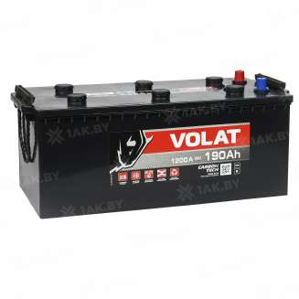 Аккумулятор VOLAT (190 Ah) 1150 A, 12 V Прямая, L+ 0