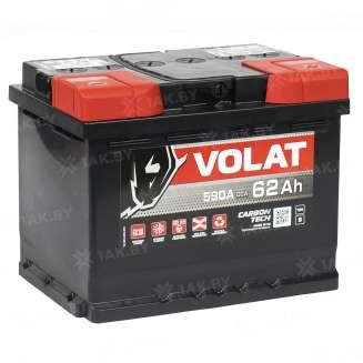 Аккумулятор VOLAT (62 Ah) 600 A, 12 V Обратная, R+ 0