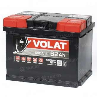 Аккумулятор VOLAT (62 Ah) 600 A, 12 V Обратная, R+ 1