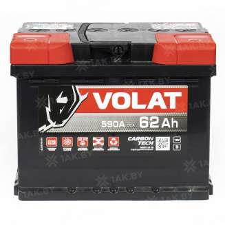 Аккумулятор VOLAT (62 Ah) 600 A, 12 V Обратная, R+ 2