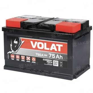 Аккумулятор VOLAT (75 Ah) 750 A, 12 V Прямая, L+ 0