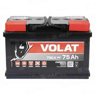 Аккумулятор VOLAT (75 Ah) 750 A, 12 V Прямая, L+ 1