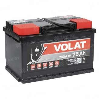 Аккумулятор VOLAT (75 Ah) 750 A, 12 V Прямая, L+ 2