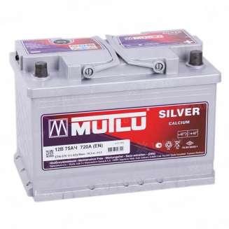 Аккумулятор MUTLU (75 Ah) 720 A, 12 V Обратная, R+ 0