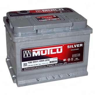 Аккумулятор MUTLU (55 Ah) 450 A, 12 V Обратная, R+ 0