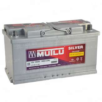 Аккумулятор MUTLU (100 Ah) 850 A, 12 V Обратная, R+ 0