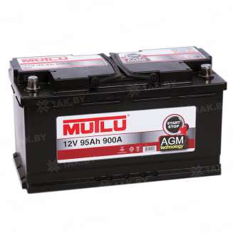 Аккумулятор MUTLU (95 Ah) 900 A, 12 V Обратная, R+ 0
