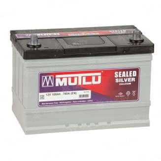 Аккумулятор MUTLU (100 Ah) 760 A, 12 V Обратная, R+ 0