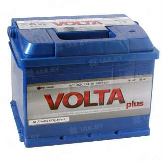 Аккумулятор VOLTA (55 Ah) 450 A, Прямая, L+ 0