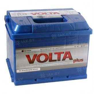 Аккумулятор VOLTA (55 Ah) 450 A, 12 V Обратная, R+ 0