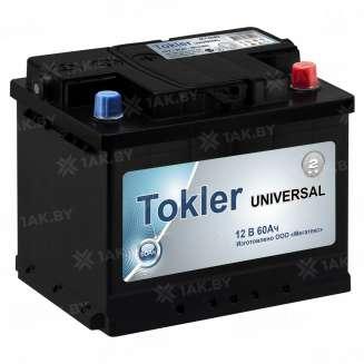 Аккумулятор TOKLER (60 Ah) 480 A, 12 V Обратная, R+ 0