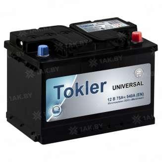 Аккумулятор TOKLER (75 Ah) 540 A, 12 V Обратная, R+ 0