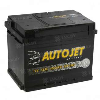 Аккумулятор AUTOJET (55 Ah) 450 A, 12 V Обратная, R+ 0