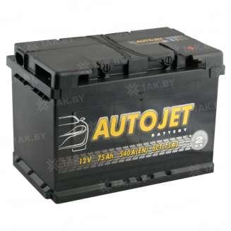Аккумулятор AUTOJET (75 Ah) 540 A, 12 V Обратная, R+ 0