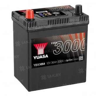 Аккумулятор YUASA (36 Ah) 330 A, 12 V Прямая, L+ 0