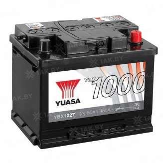 Аккумулятор YUASA (55 Ah) 480 A, 12 V Обратная, R+ 0