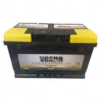Аккумулятор VESNA (80 Ah) 760 A, 12 V Обратная, R+ 0