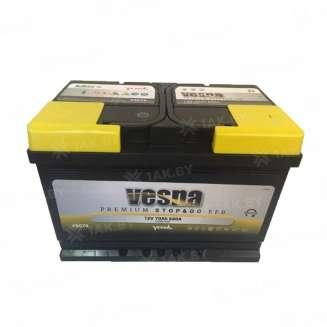 Аккумулятор VESNA (70 Ah) 680 A, 12 V Обратная, R+ 0
