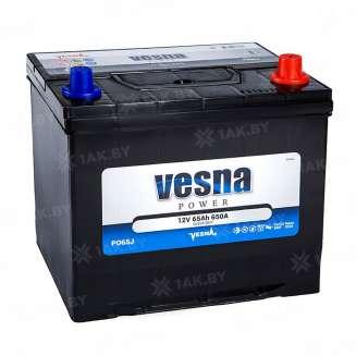 Аккумулятор VESNA (65 Ah) 650 A, 12 V Обратная, R+ 0