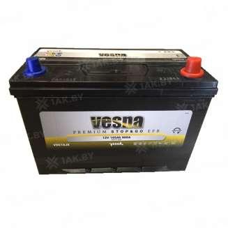 Аккумулятор VESNA (105 Ah) 900 A, 12 V Обратная, R+ 0