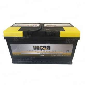 Аккумулятор VESNA (90 Ah) 850 A, 12 V Обратная, R+ 0