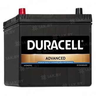Аккумулятор Duracell (60 Ah) 480 A, 12 V Прямая, L+ 0