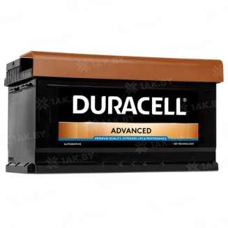 Аккумулятор Duracell (80 Ah) 800 A, 12 V Обратная, R+ 0