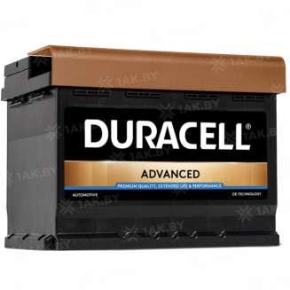 Аккумулятор Duracell (62 Ah) 540 A, 12 V Обратная, R+ 0