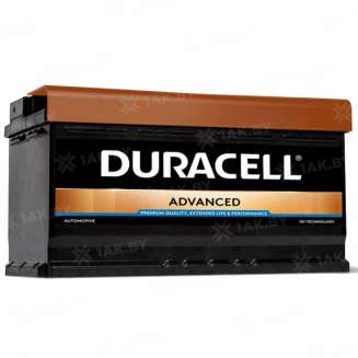Аккумулятор Duracell (100 Ah) 850 A, 12 V Обратная, R+ 0