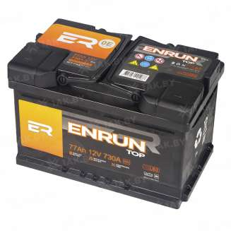 Аккумулятор ENRUN (77 Ah) 730 A, 12 V Обратная, R+ 0