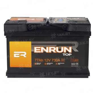 Аккумулятор ENRUN (77 Ah) 730 A, 12 V Обратная, R+ 2