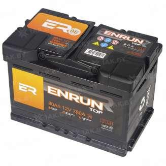 Аккумулятор ENRUN (80 Ah) 780 A, 12 V Прямая, L+ 1