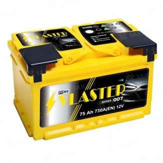 Аккумулятор VLASTER (75 Ah) 730 A, 12 V Обратная, R+ 0
